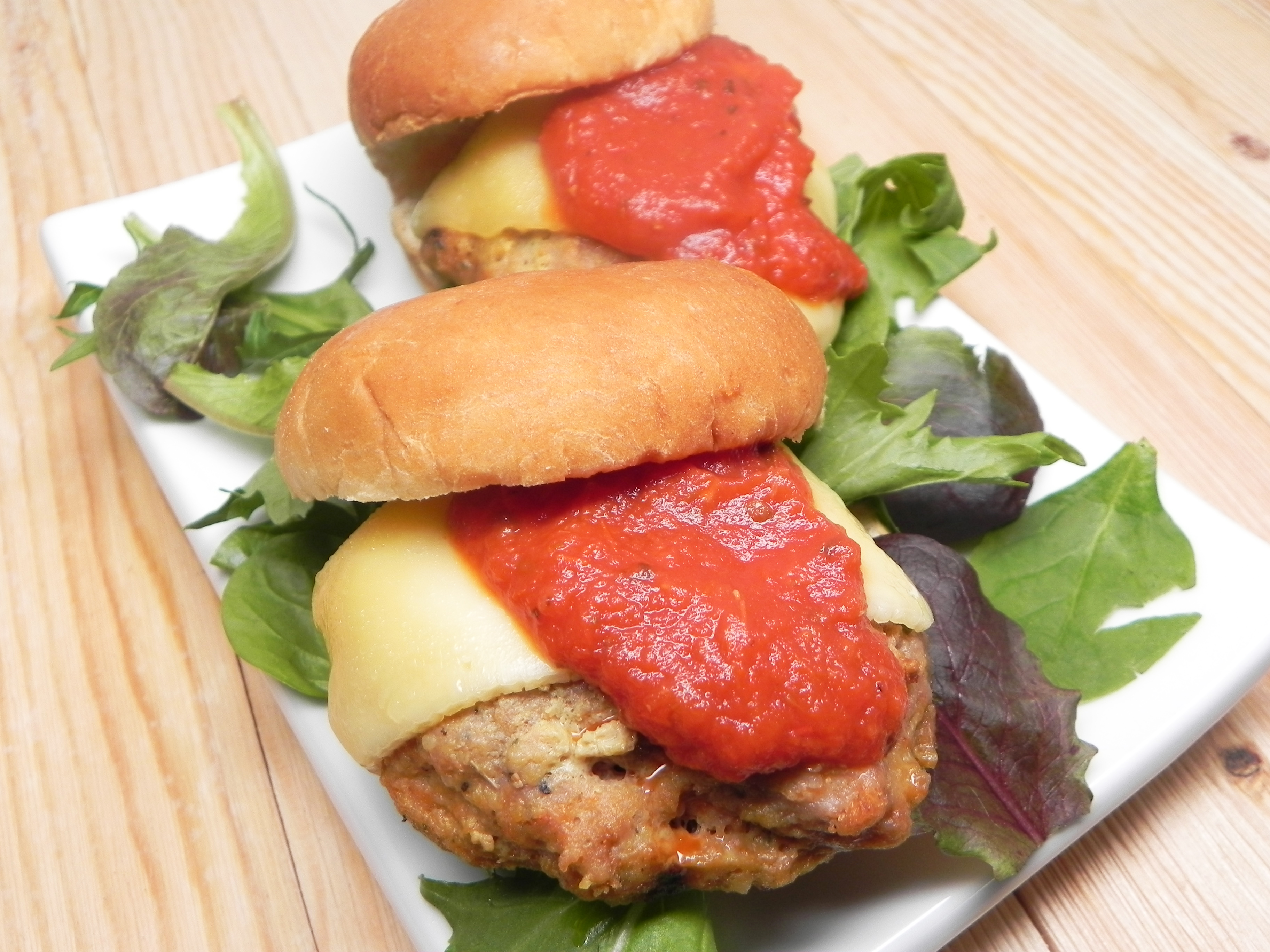 Chicken Parmesan Burger Jackie Harroll