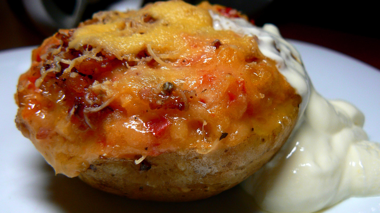 Southwestern Style Twice Baked Potatoes