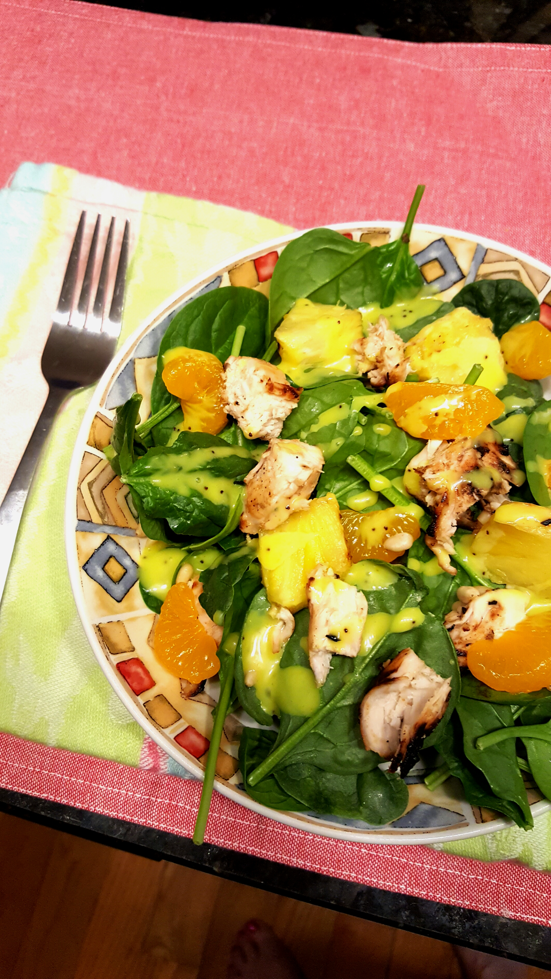 Grilled Pineapple Salad Sheila LaLonde