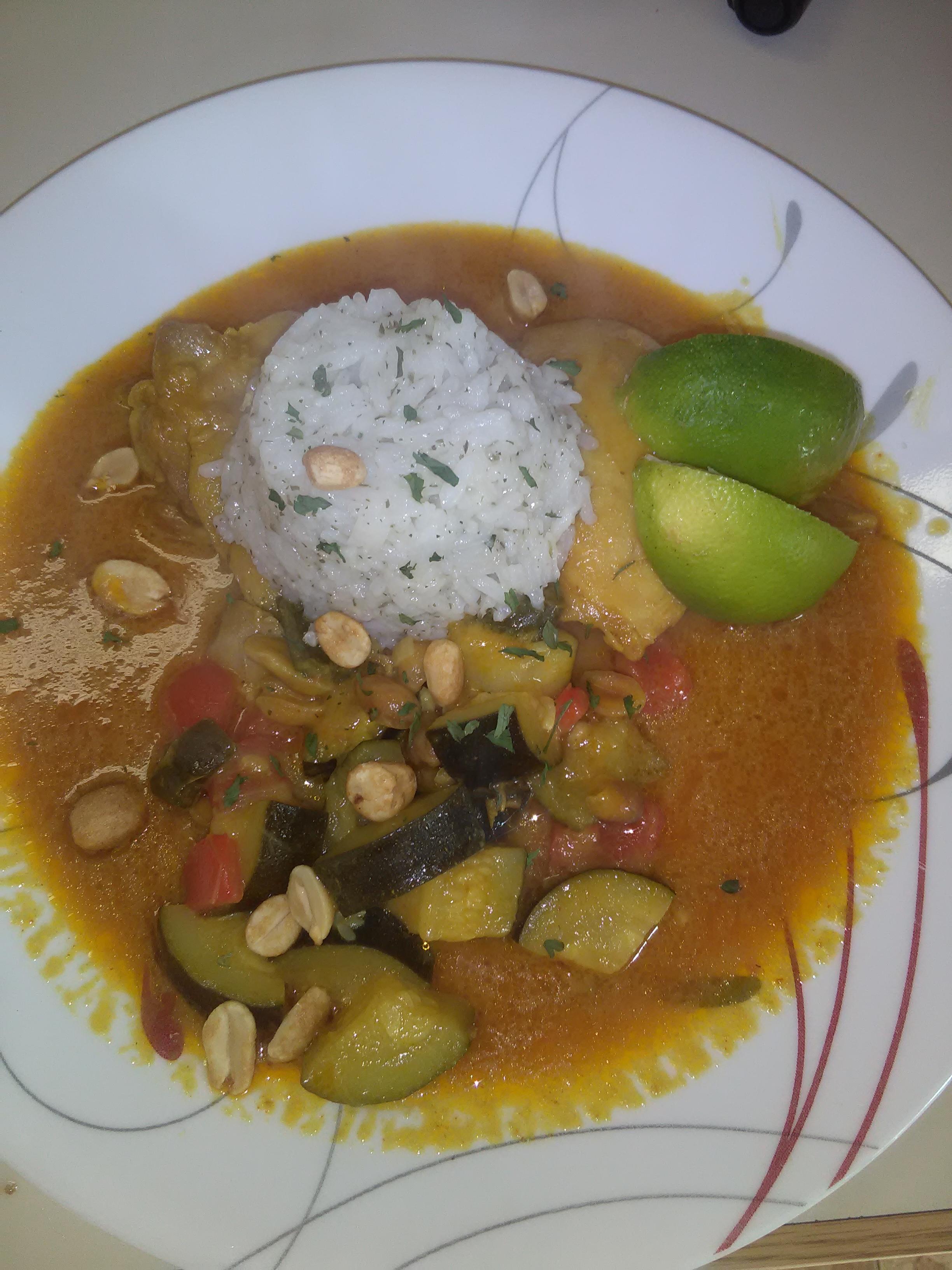 Chef John's Peanut Curry Chicken Jessica Adams