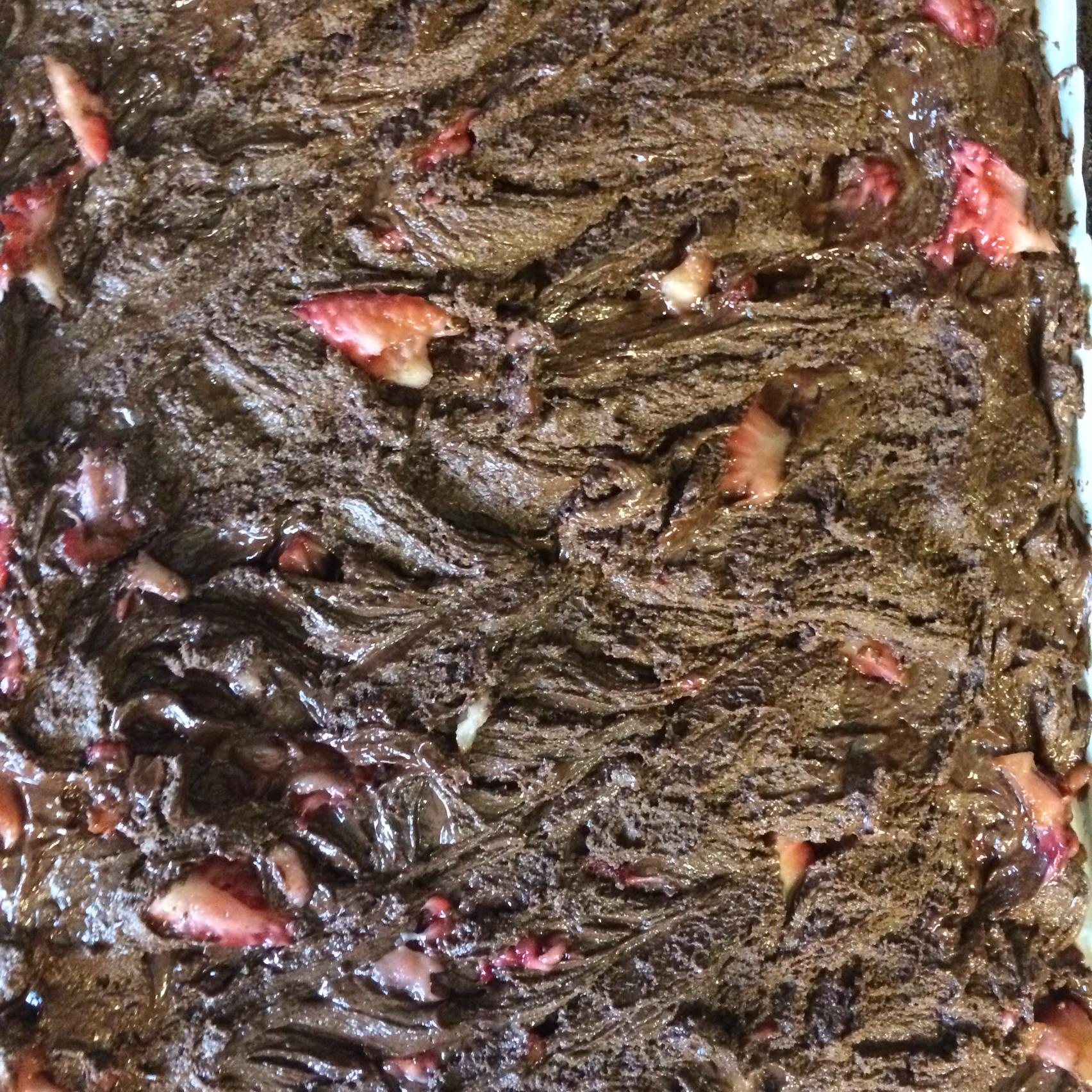 Peanut Butter, Marshmallow, Dark Chocolate, Strawberry, and Nutella(R) Bark