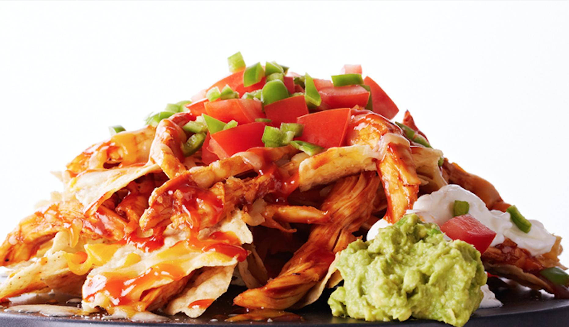 loaded bbq chicken nachos recipe recipe