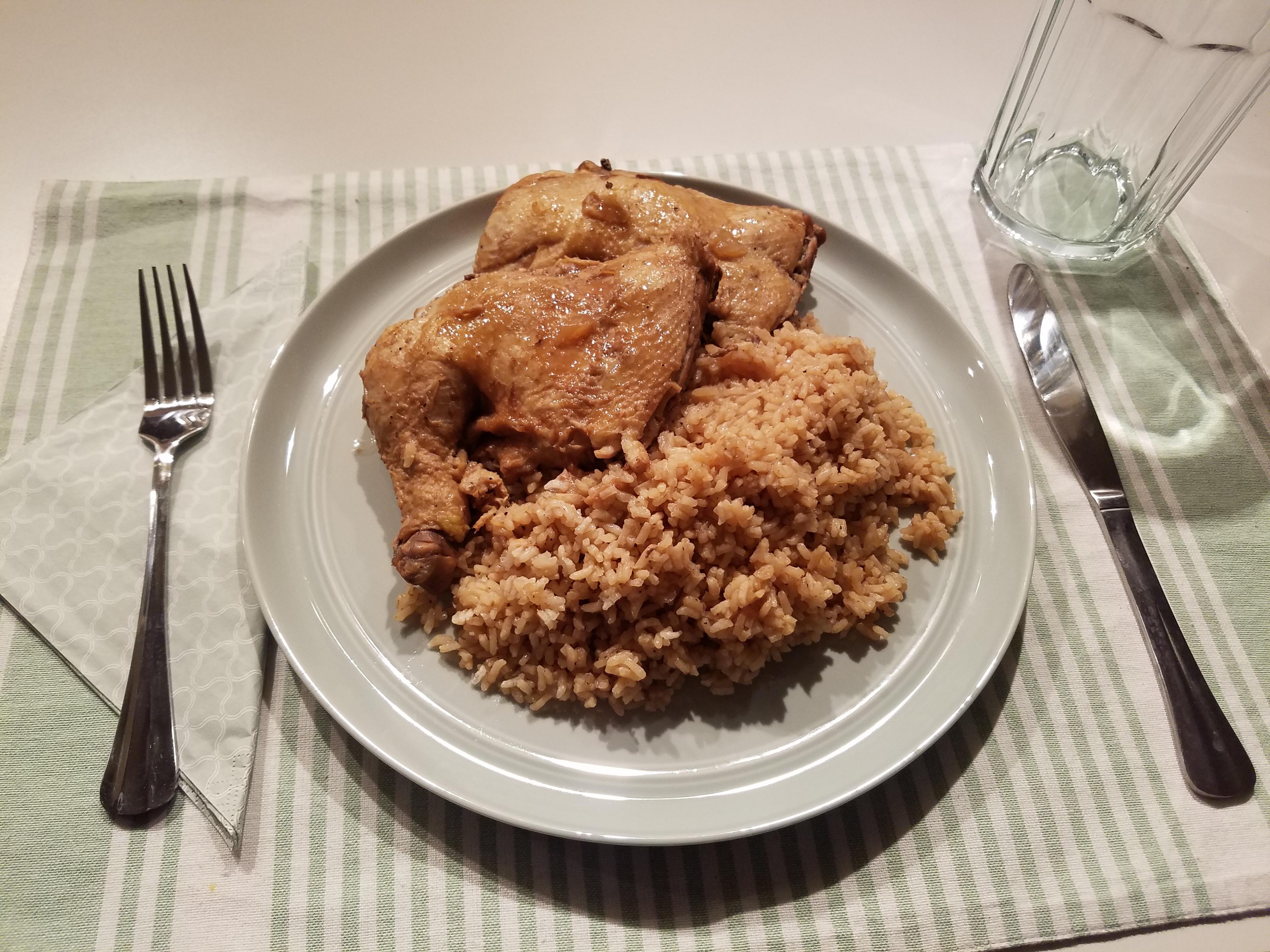 Pinoy Chicken Adobo