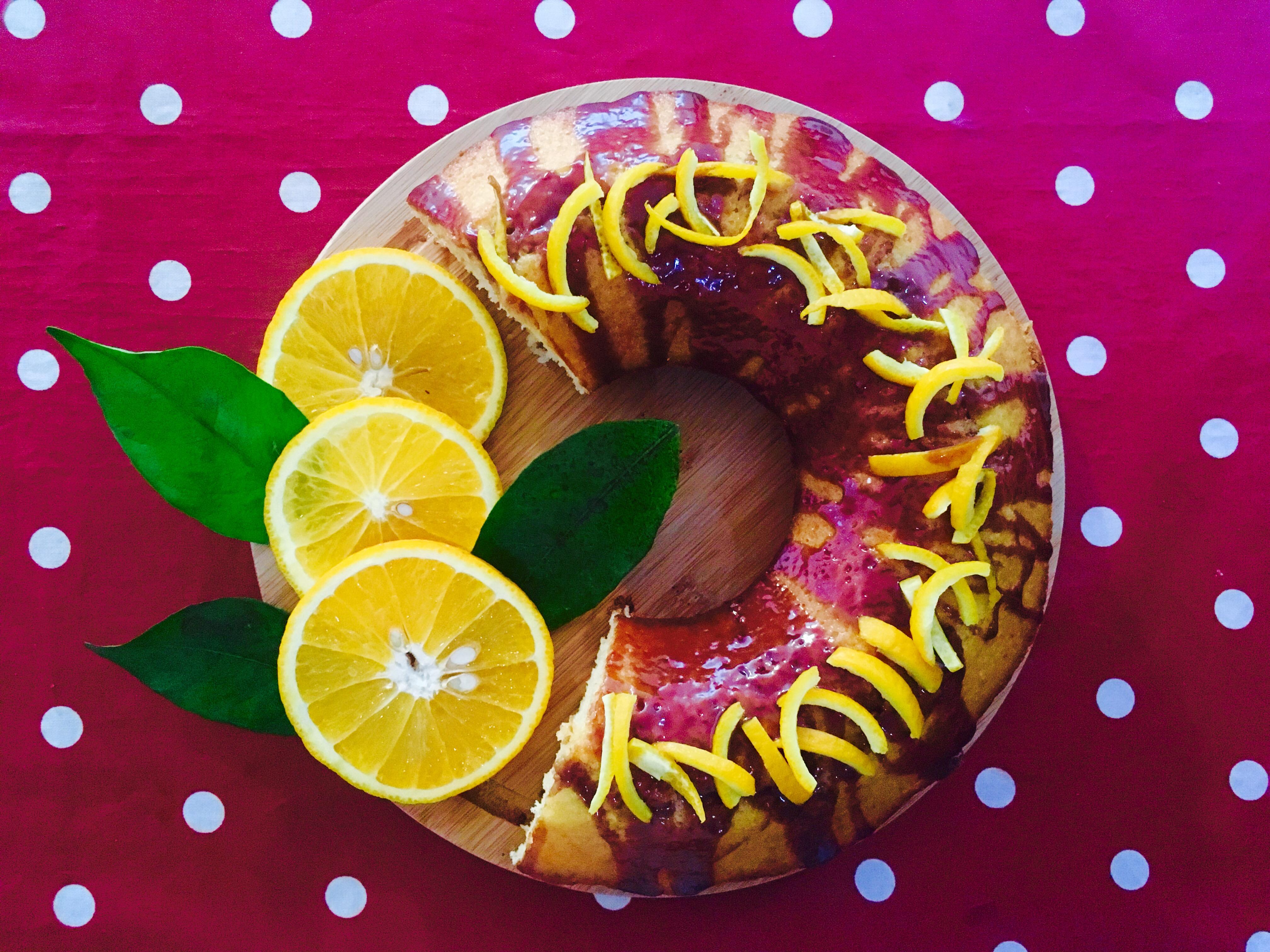 Beat and Bake Orange Cake image
