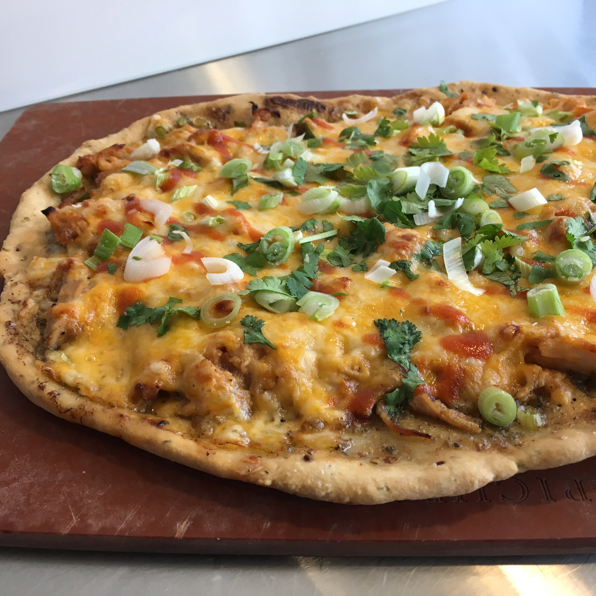 Sriracha Honey Chicken Pizza
