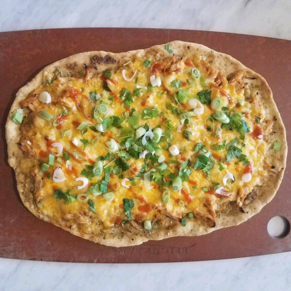 Sriracha Honey Chicken Pizza Beth Smith