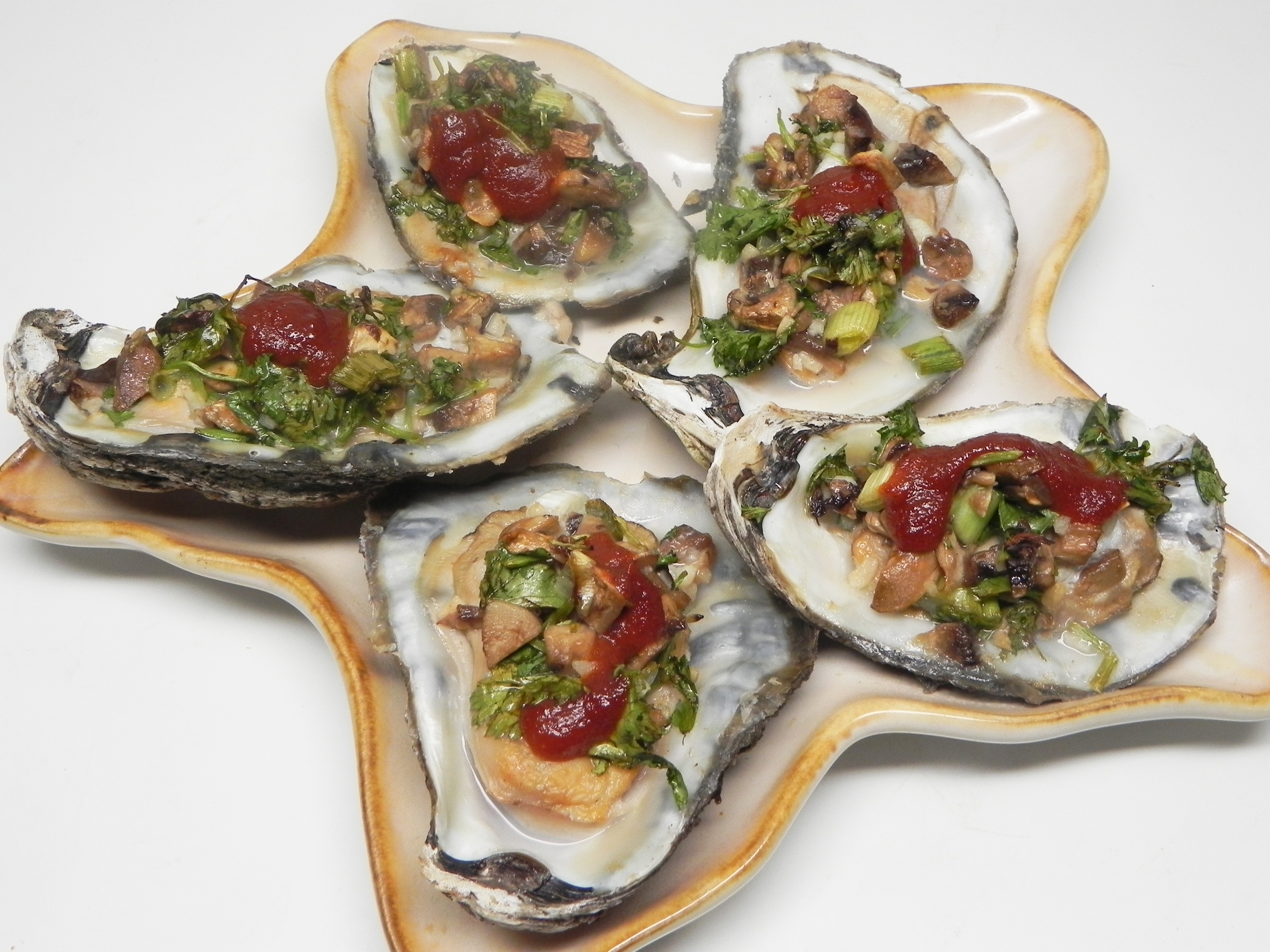 Open-Faced Oysters