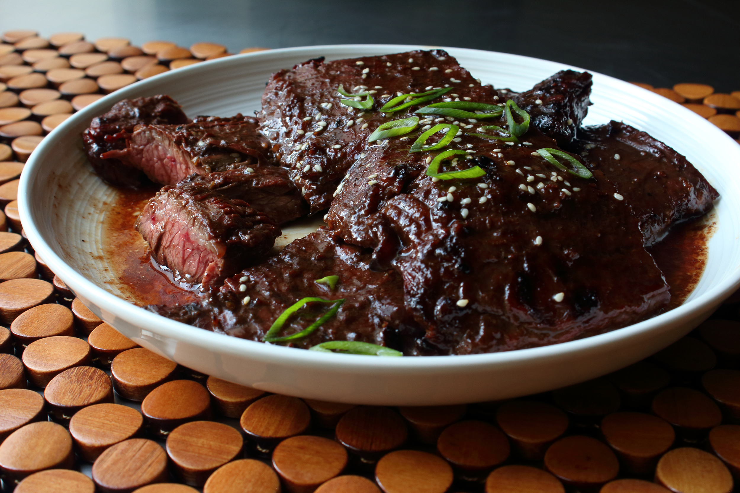Grilled Hoisin Beef