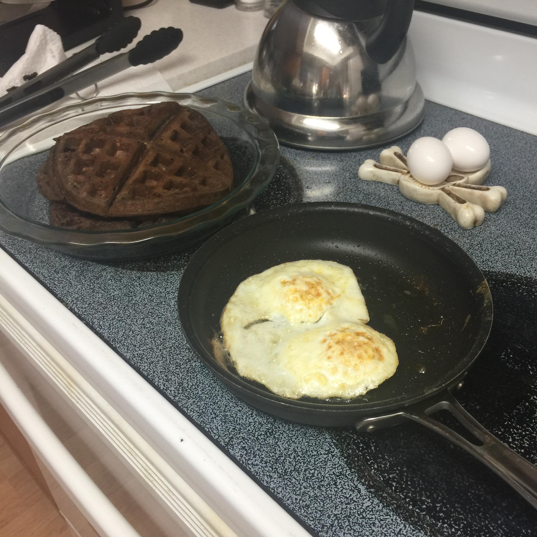 Carlie's Chocolate Oatmeal Waffles Jody N Jason Brazelton