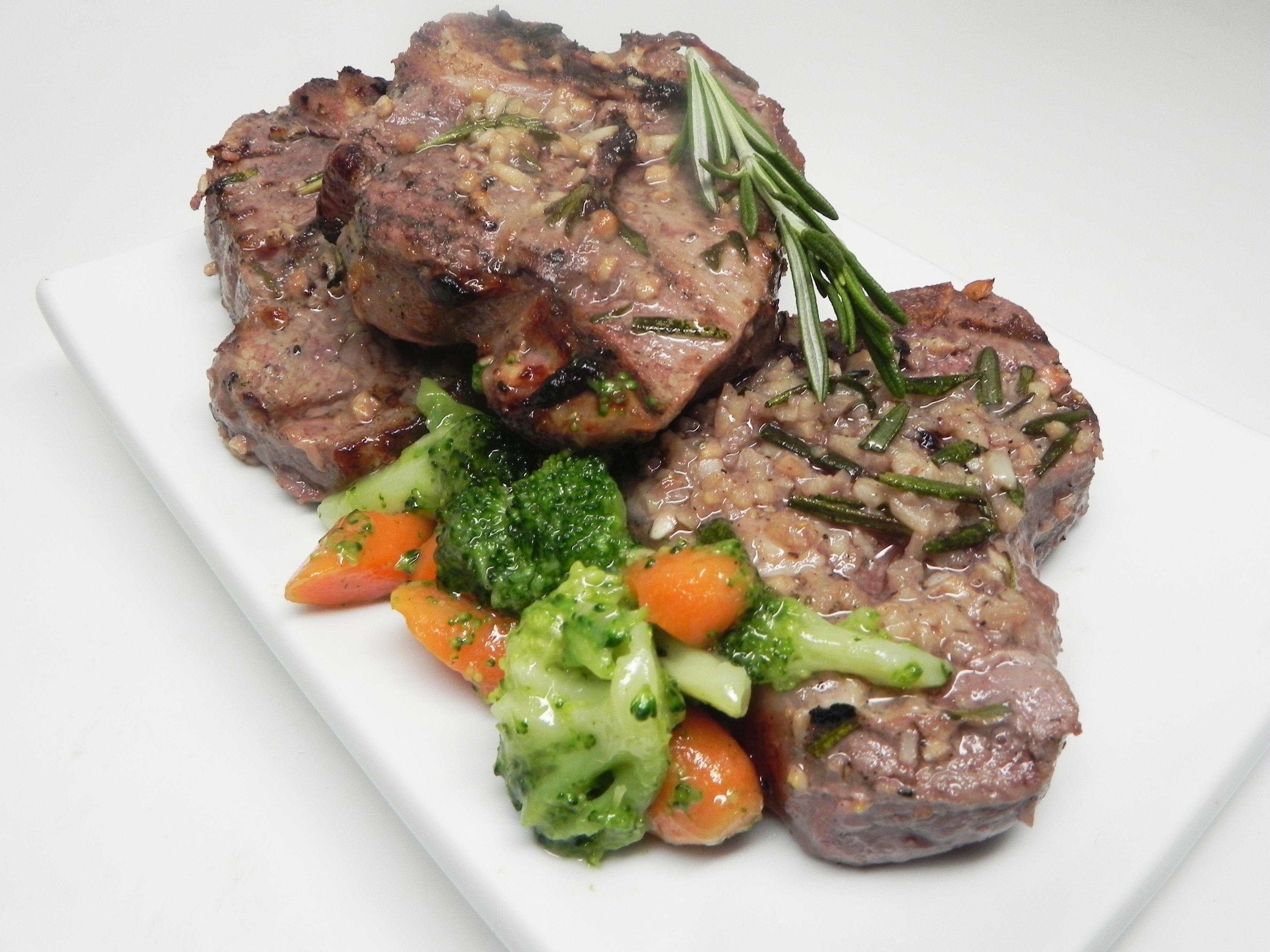 Grilled Leg of Lamb Steaks image