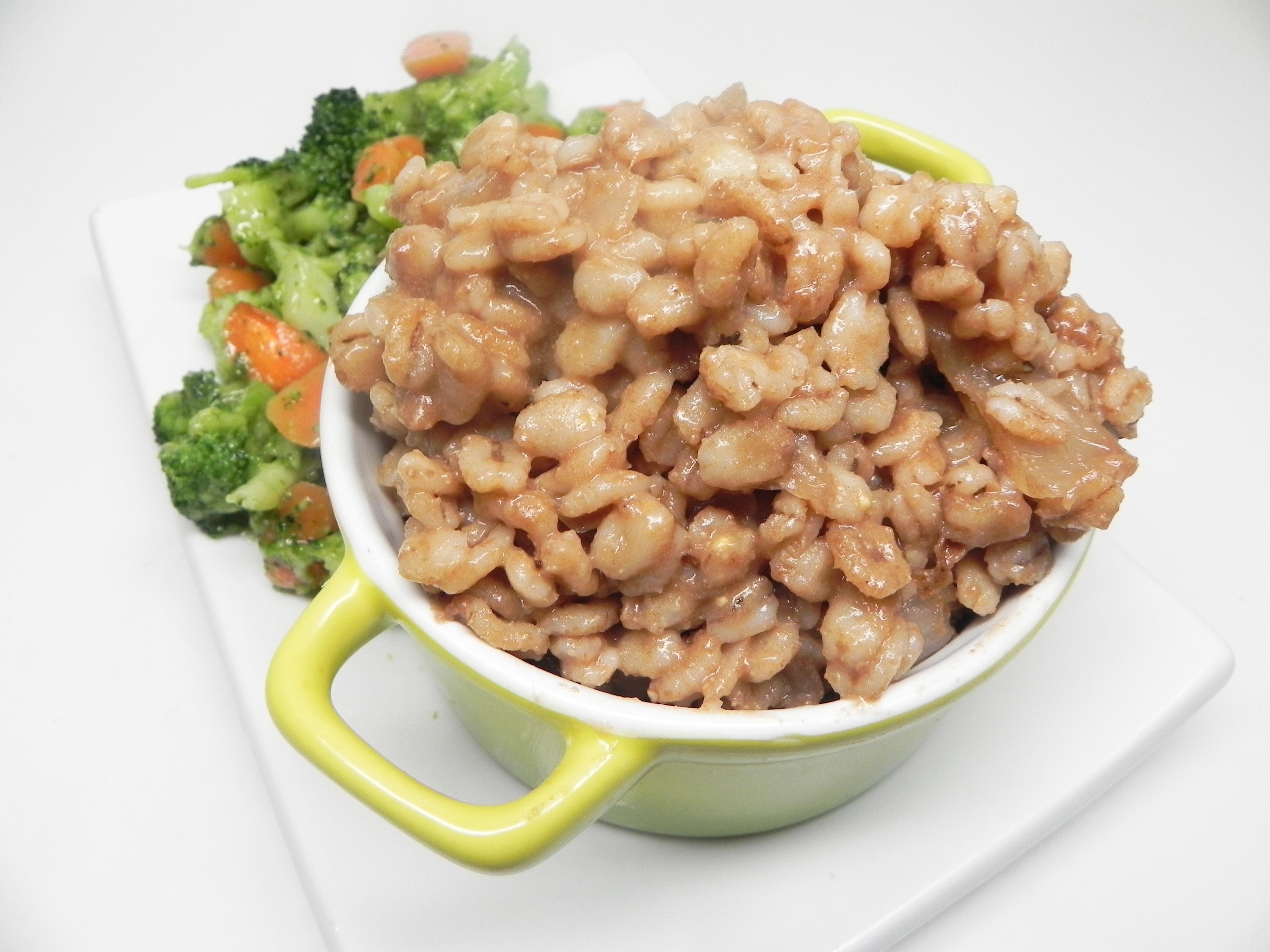 Balsamic Barley Orzotto