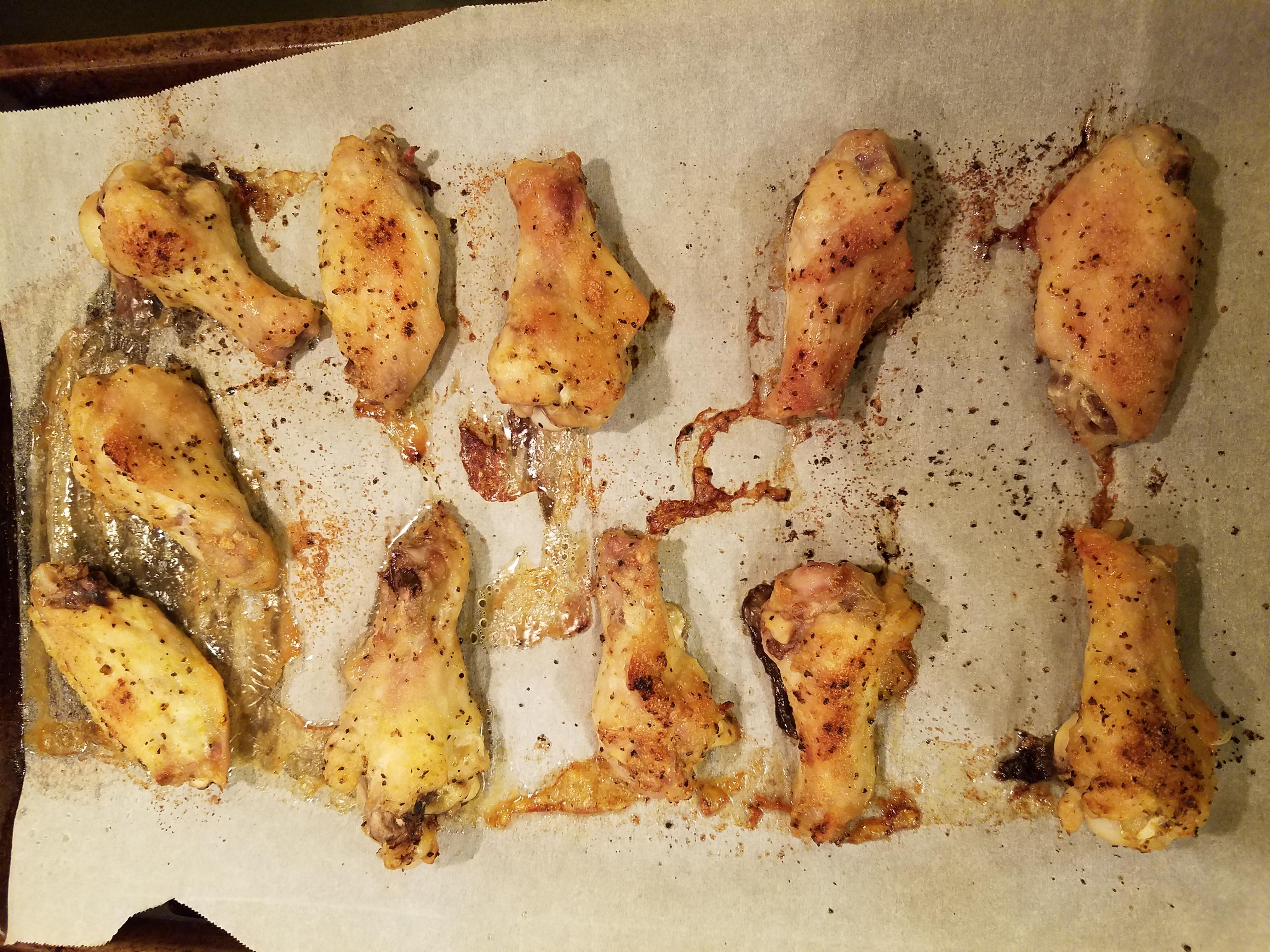 Lemon Pepper Chicken Wings Renelle Hui