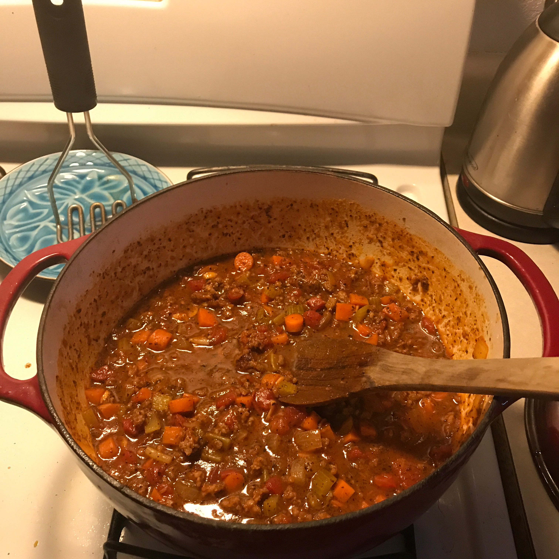 Homemade Spaghetti Sauce_image