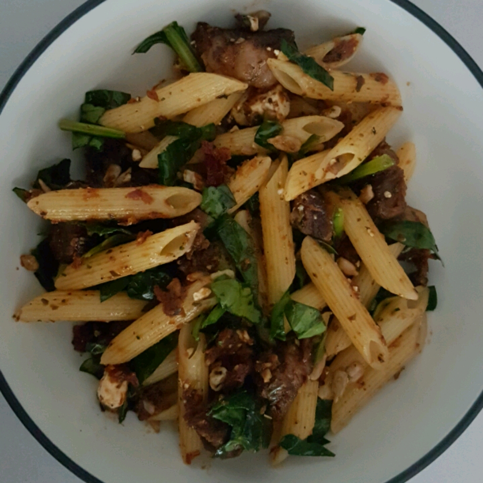 Quick Greek Pasta Salad with Steak Mario Arturo