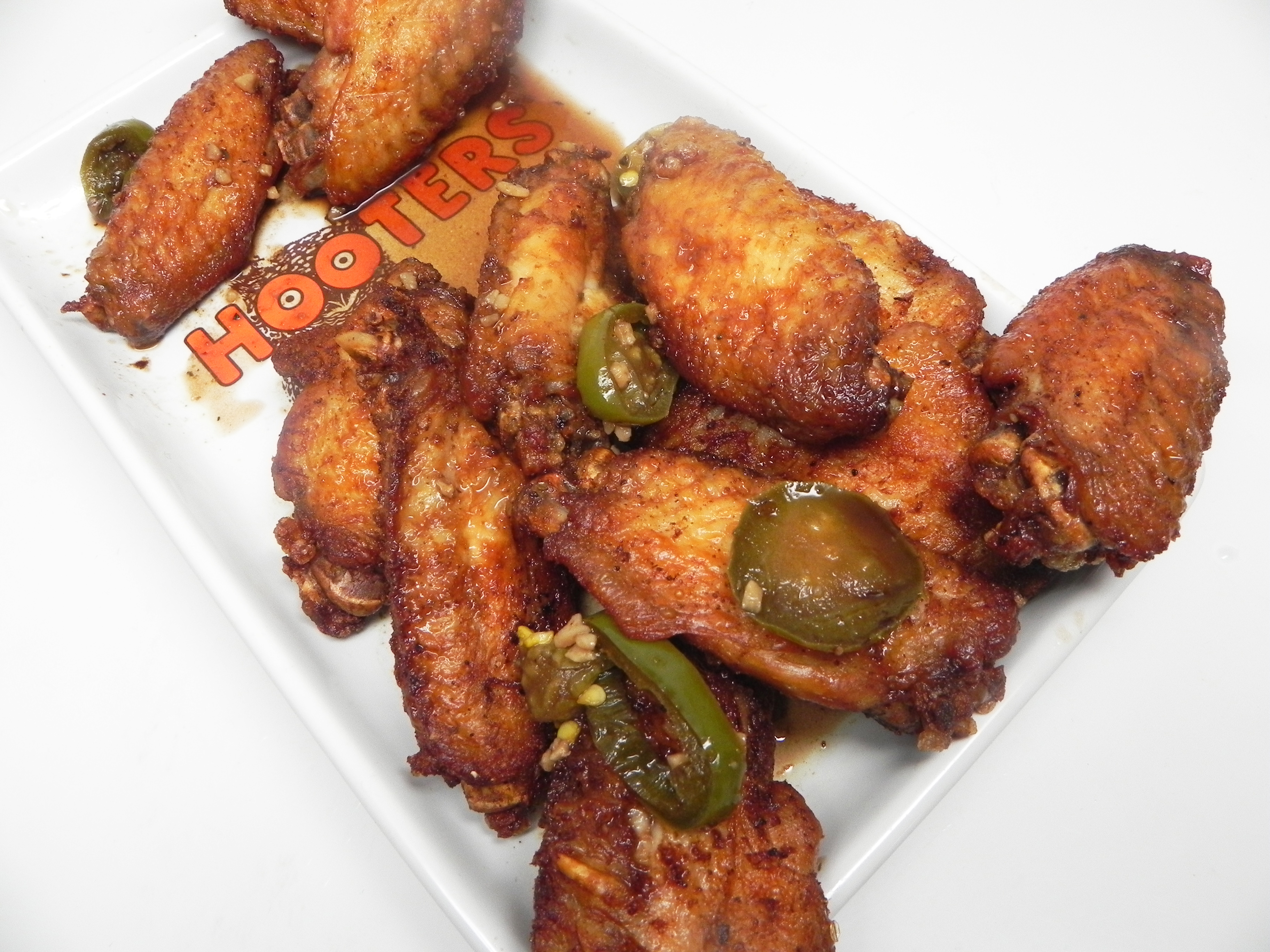 Leyley's Spicy Chicken Adobo Wings