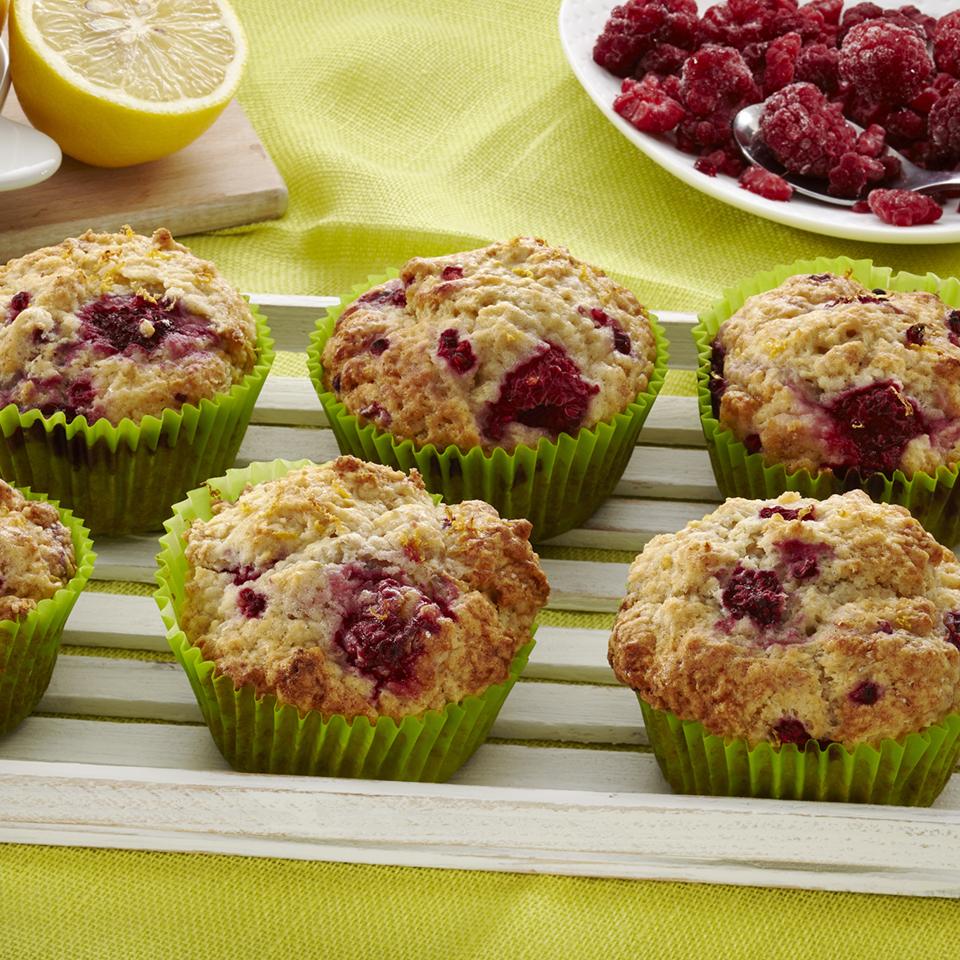 Raspberry Lemonade Stevia Muffins