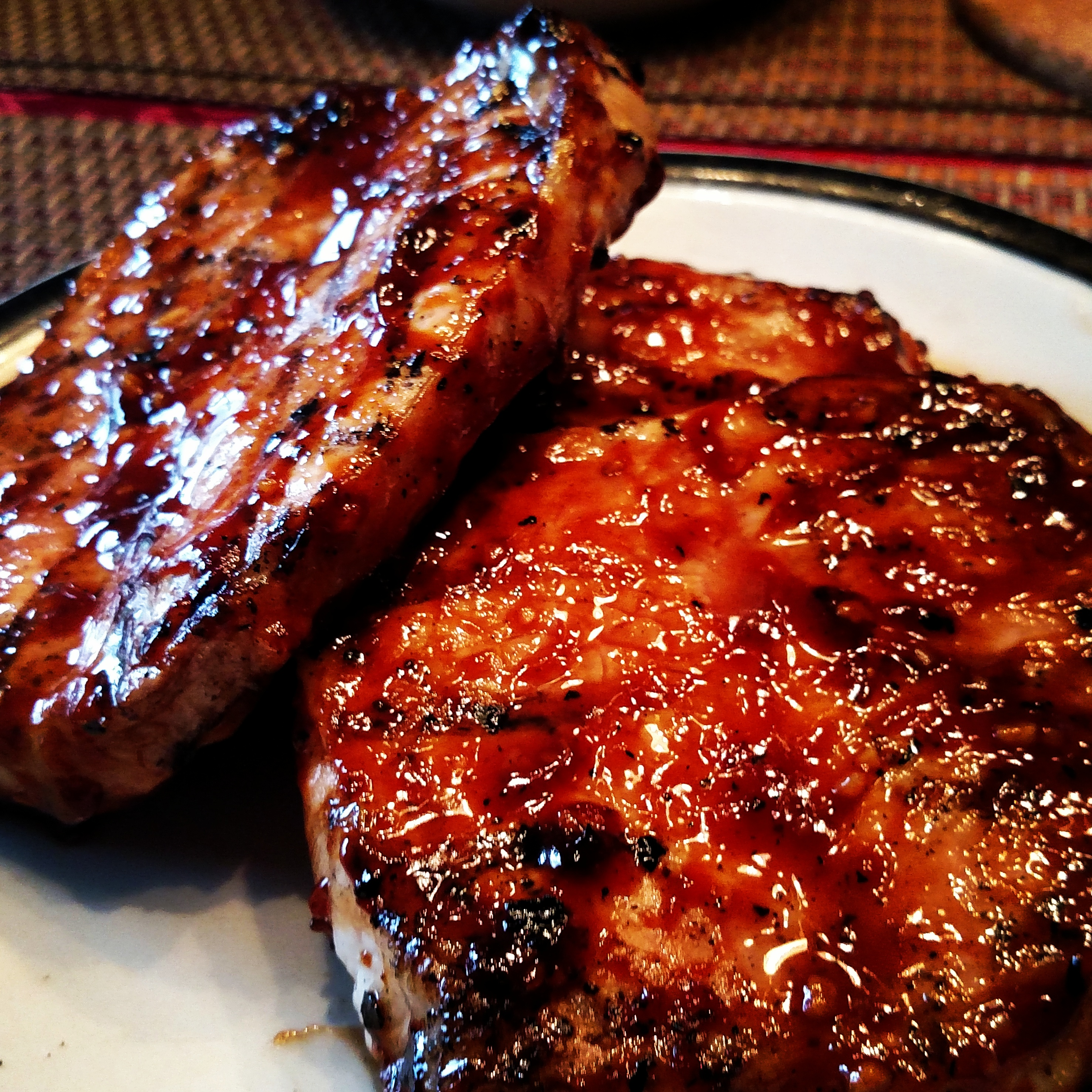 World's Best Honey Garlic Pork Chops