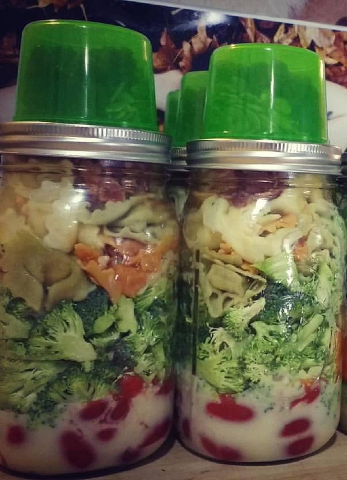 Tortellini Bacon Broccoli Salad Florence Fatale