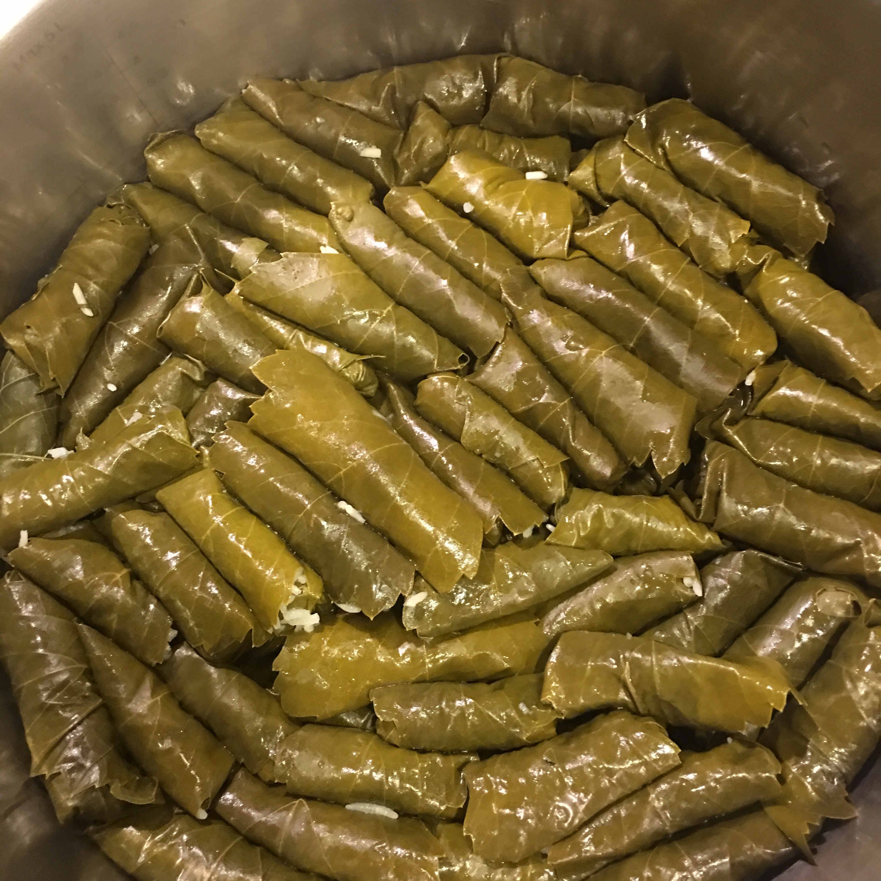 My Own Famous Stuffed Grape Leaves Recipe Allrecipes