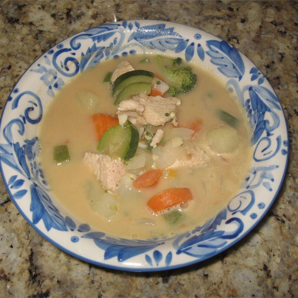 Peanut Butter Vegetable Chicken Soup Jwelch