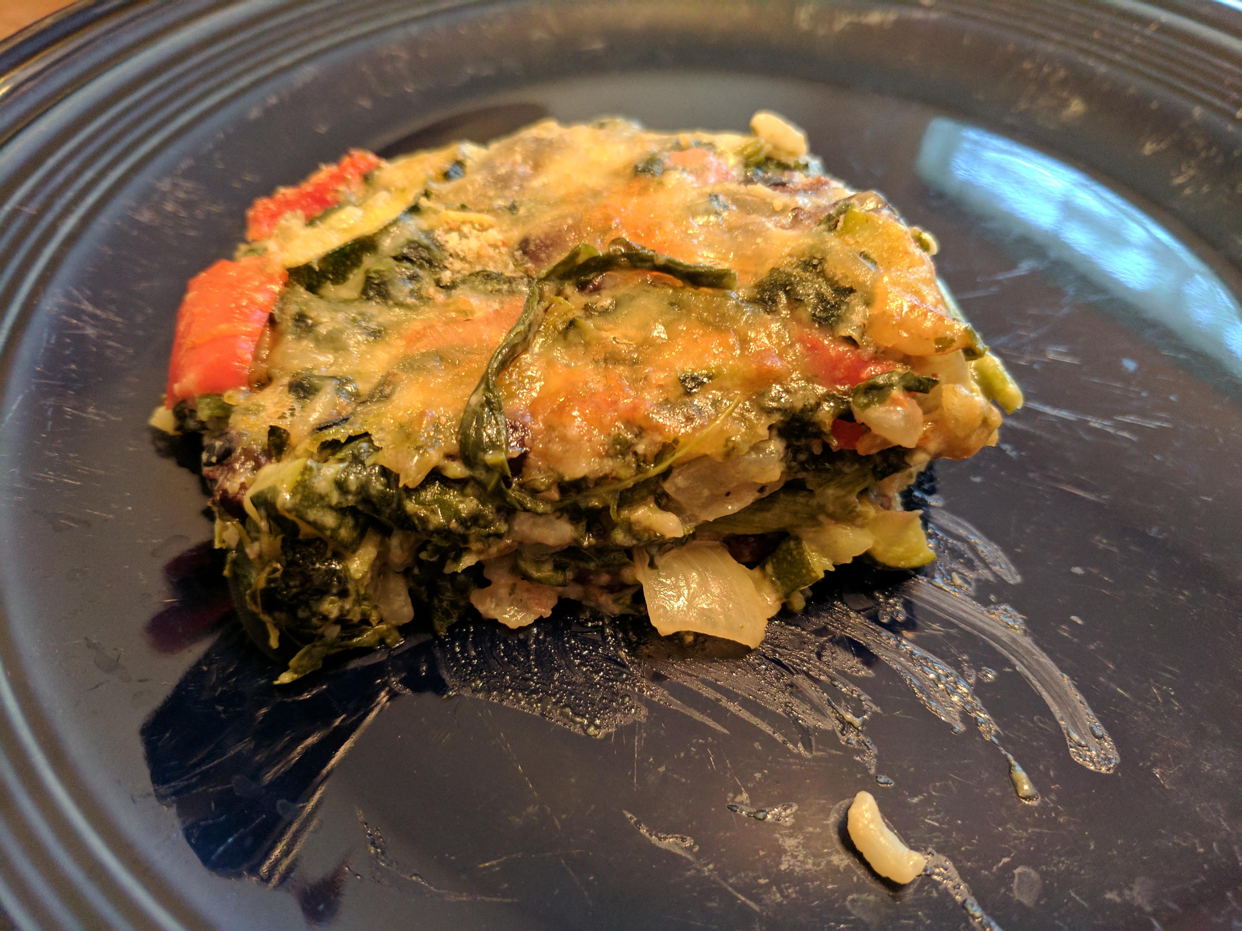 Spinach Veggie Casserole LGUROWITZ