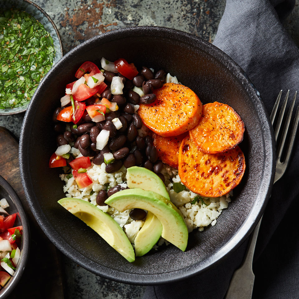 Cuban Cauliflower Rice Bowl Carolyn Casner