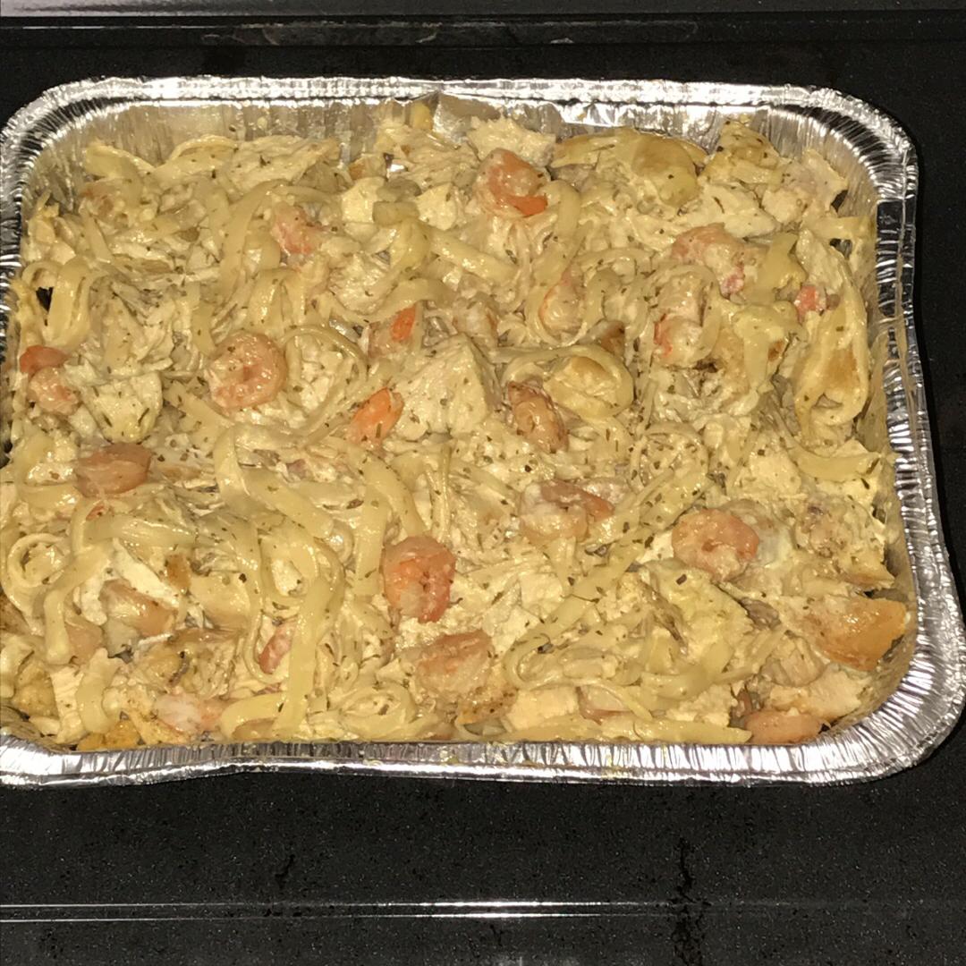 Grilled Shrimp and Chicken Pasta Kia