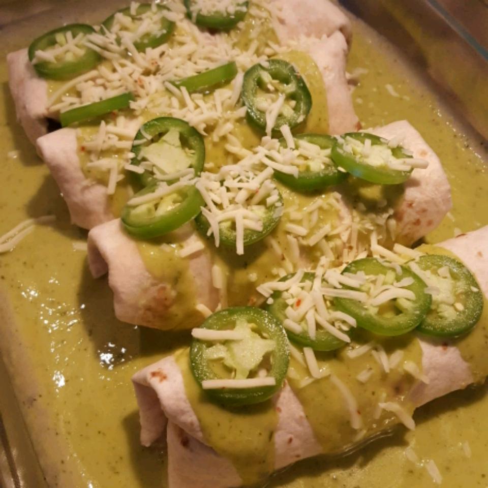 Jalapeno Cream Cheese Chicken Enchiladas baumanns