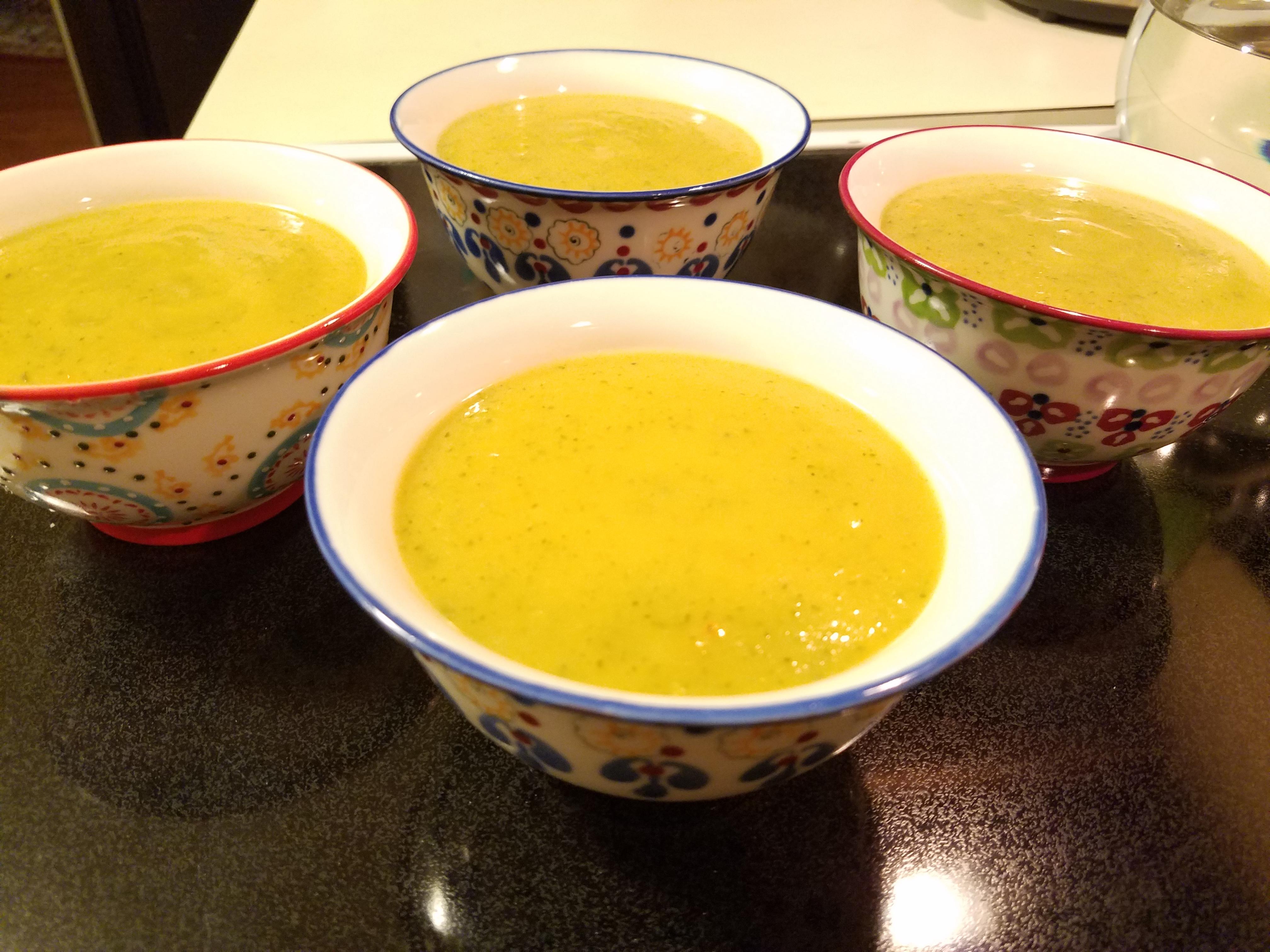 Summer Squash Soup Casablancaise