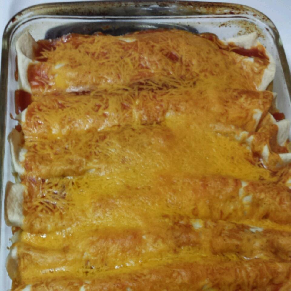 Spicy Chicken Enchiladas Kevin Nuber
