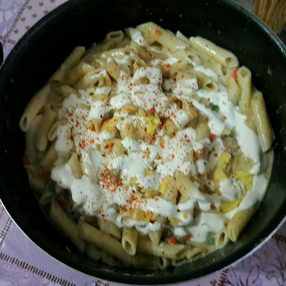 Cheesy Chicken Pepper Pasta Rabbiya Umer