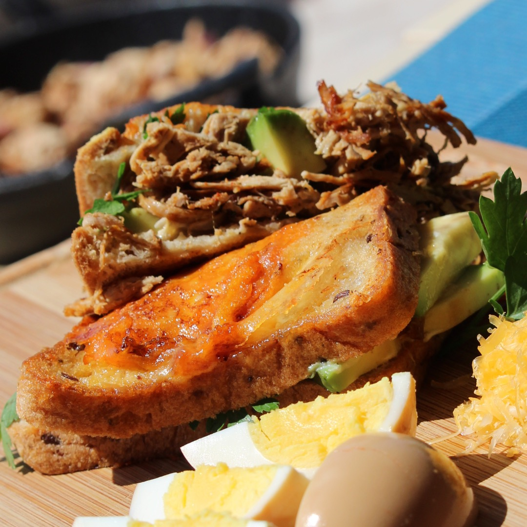 Tex Mex Ultimate Carnitas Grilled Cheese