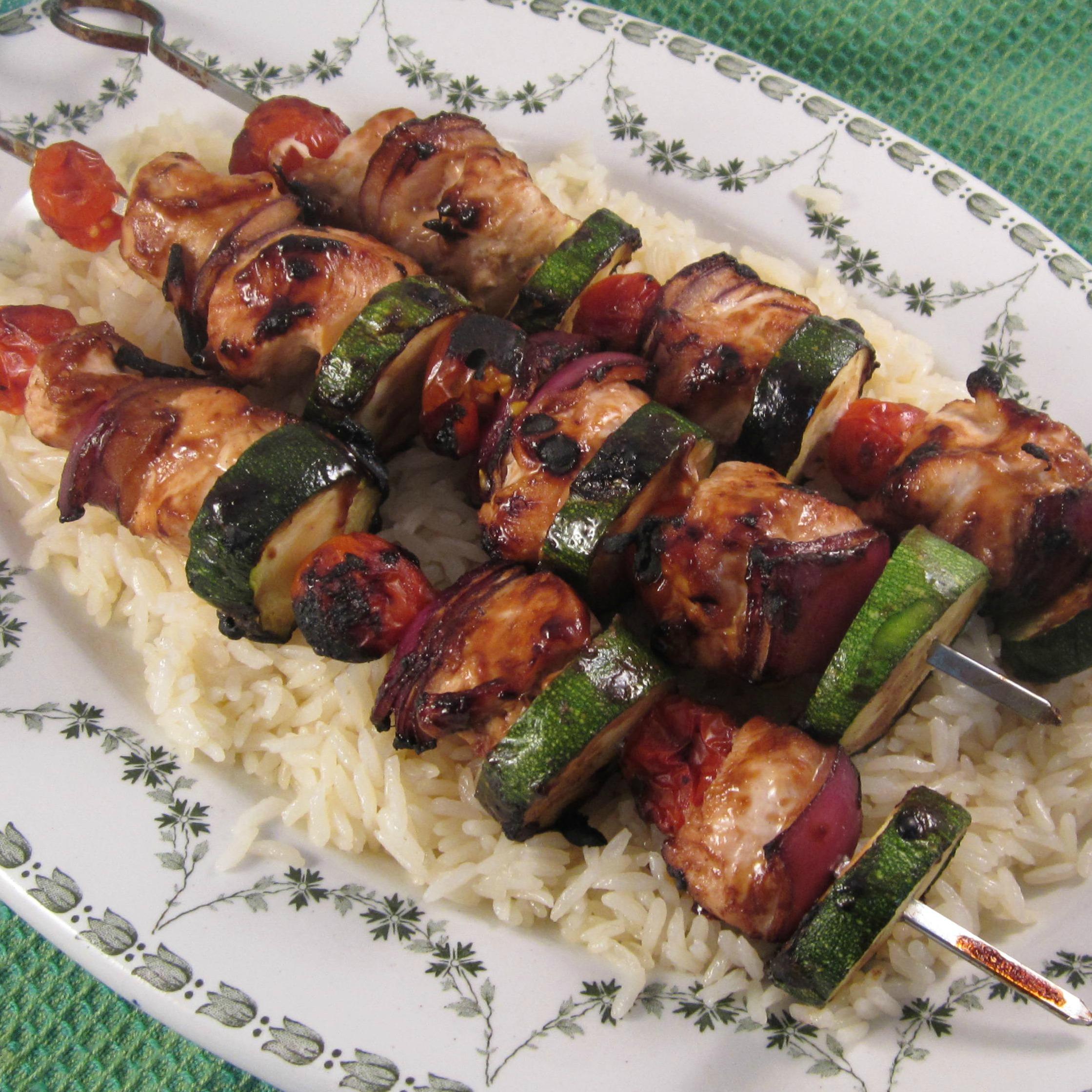 Grilled Chicken Kabobs Deb C