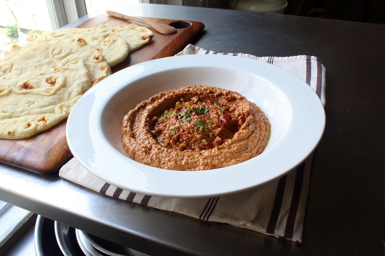 Muhammara (Roasted Pepper & Walnut Spread)