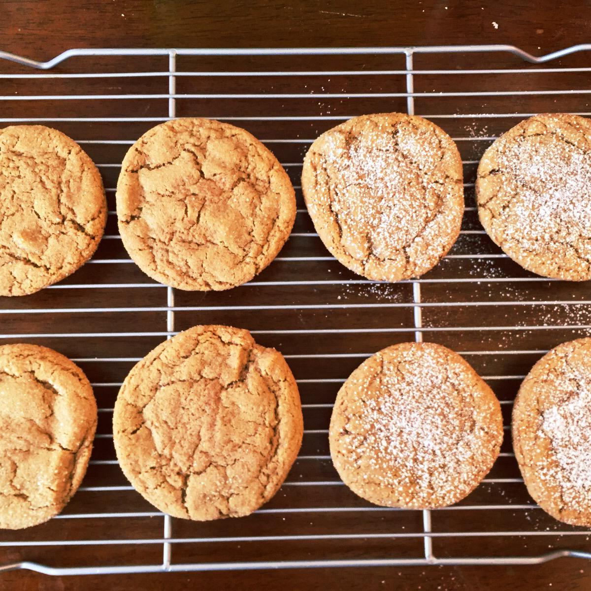 Healthier Big Soft Ginger Cookies image