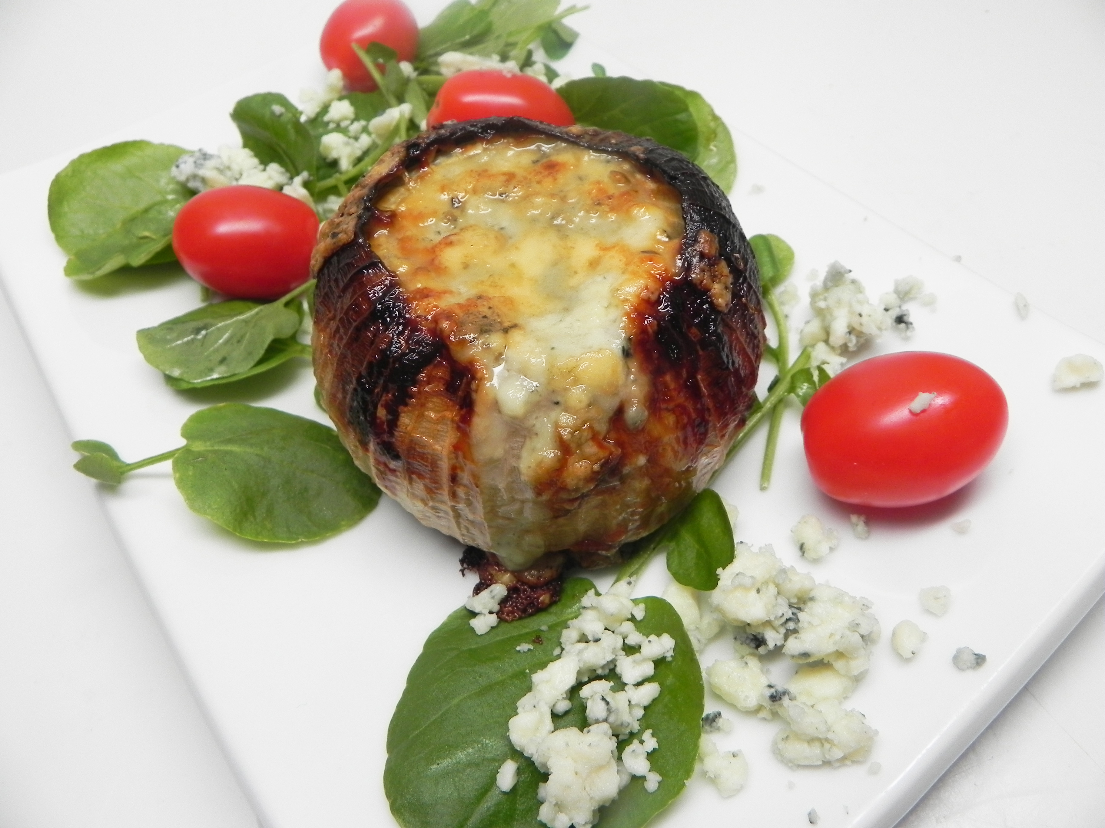 Grilled Blue Cheese Stuffed Onions