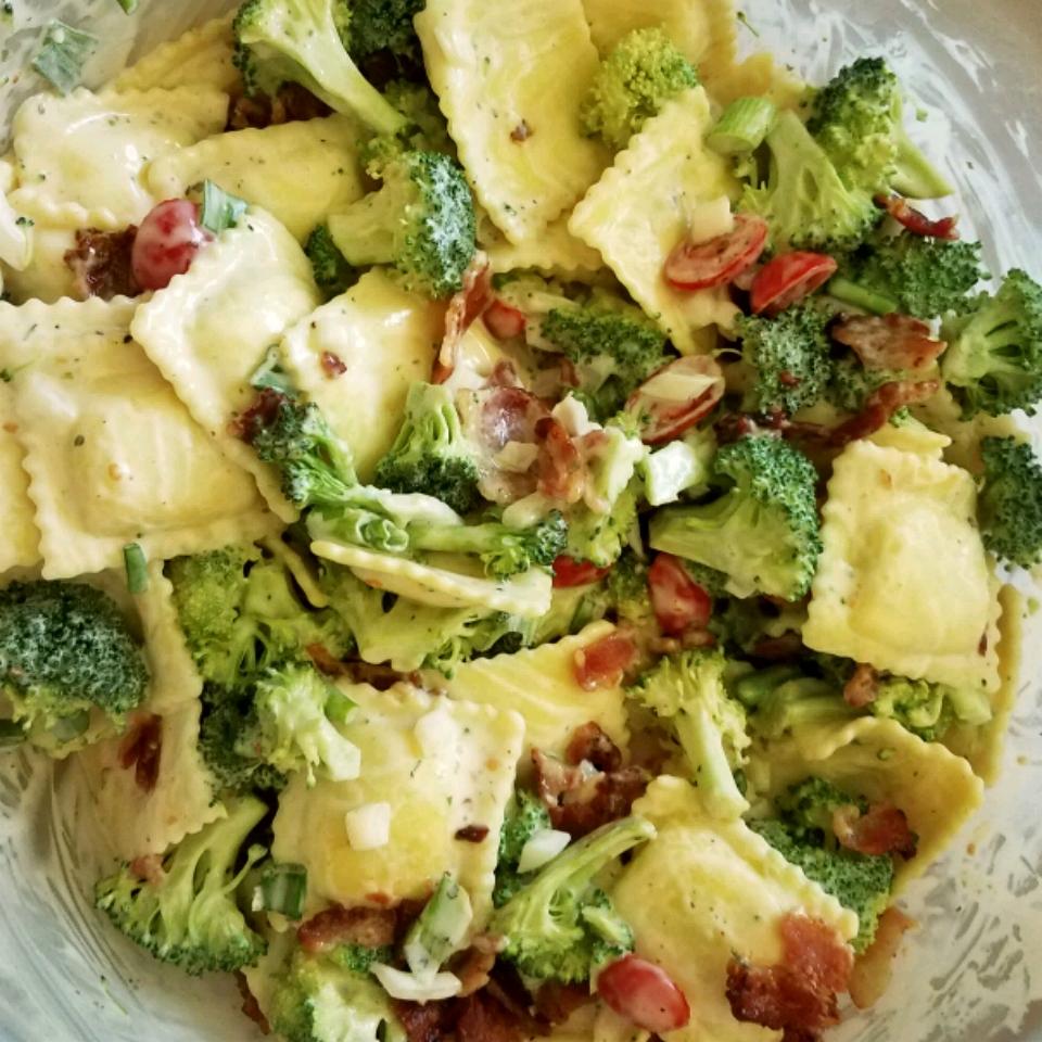 Tortellini Bacon Broccoli Salad Daniele Lowry