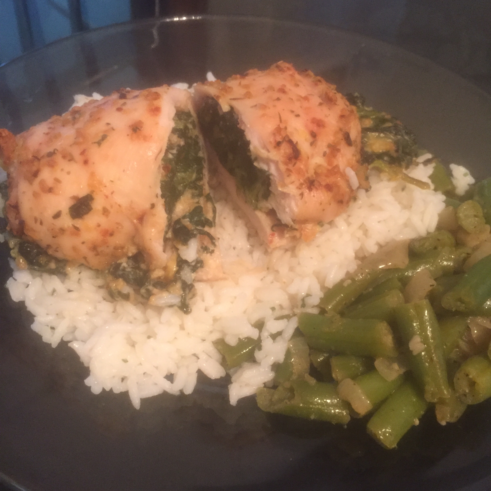 Spinach Stuffed Chicken Breast Kailah16