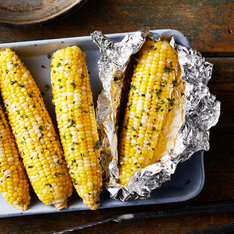 Garlic Butter Campfire Corn Hilary Meyer