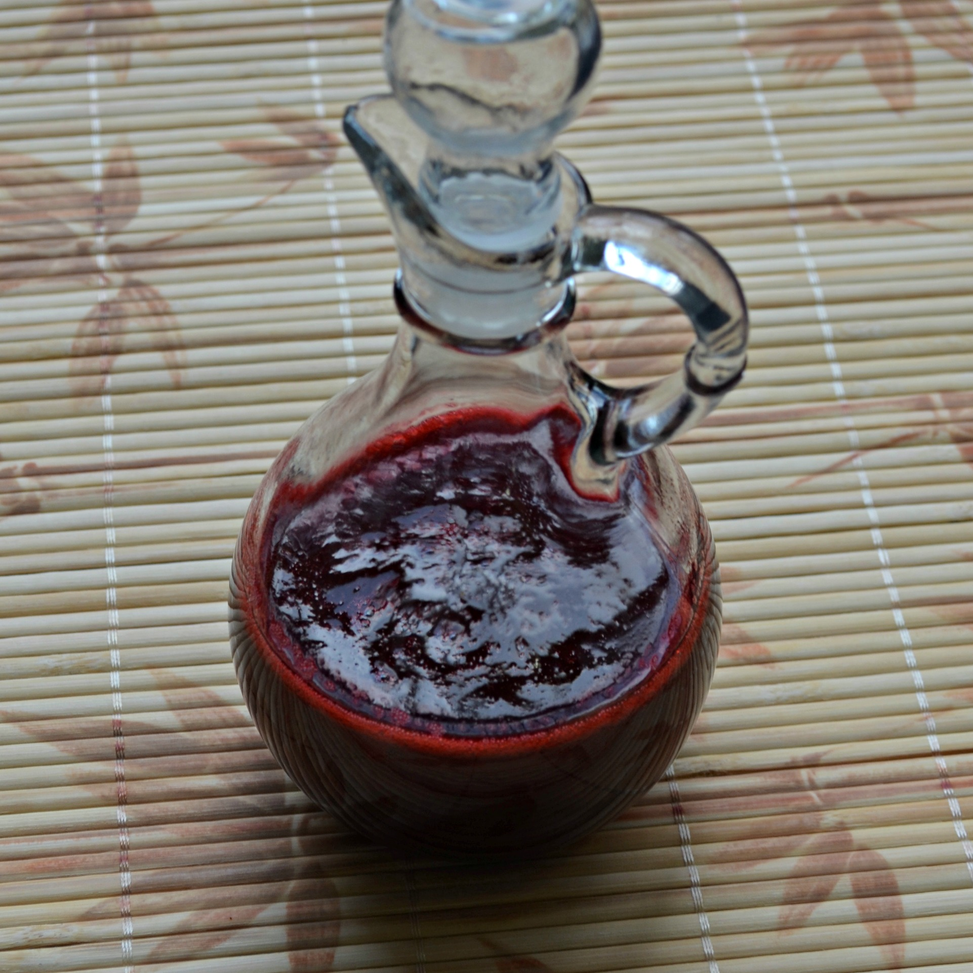 Raspberry Syrup for Drinks