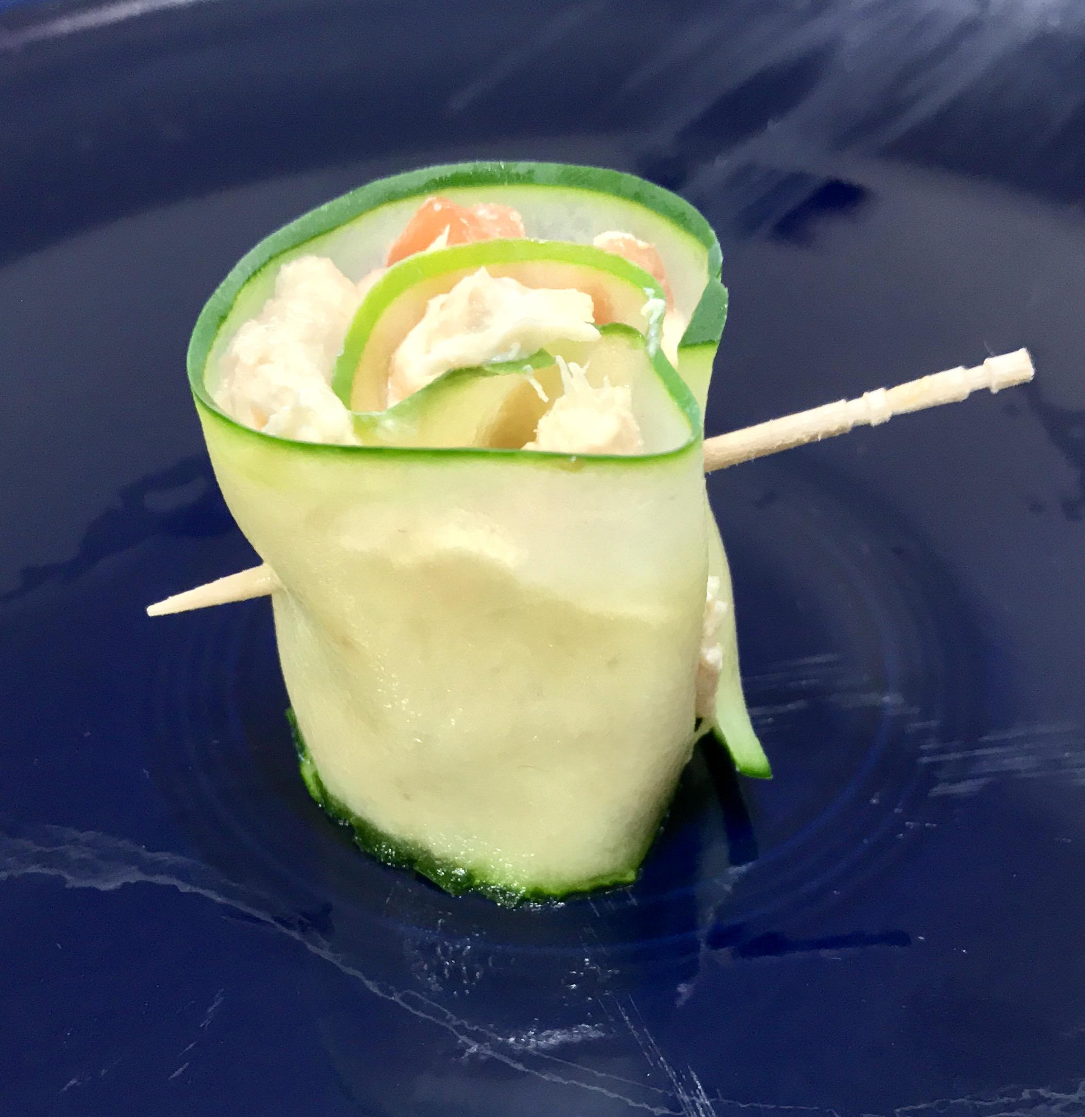 Cucumber Chicken Roll-ups Jeff Stine