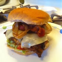 Summer Chicken Burgers Amber Pulford