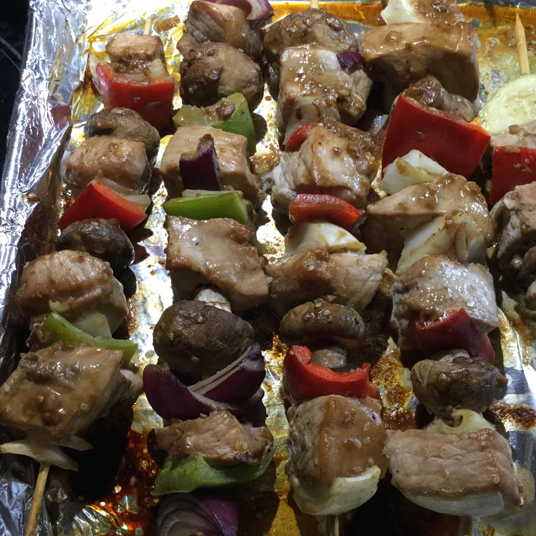 Korean Kebabs Lori Pelton Johnston