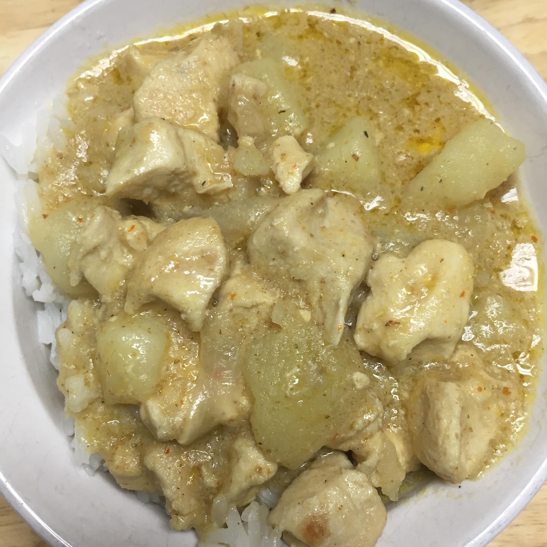 Thai Yellow Chicken Curry Khalila Gross