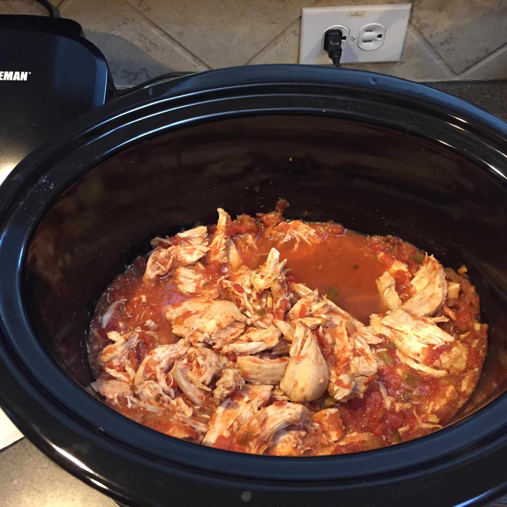 Slow Cooker Spicy Chicken Mrs.Unangst