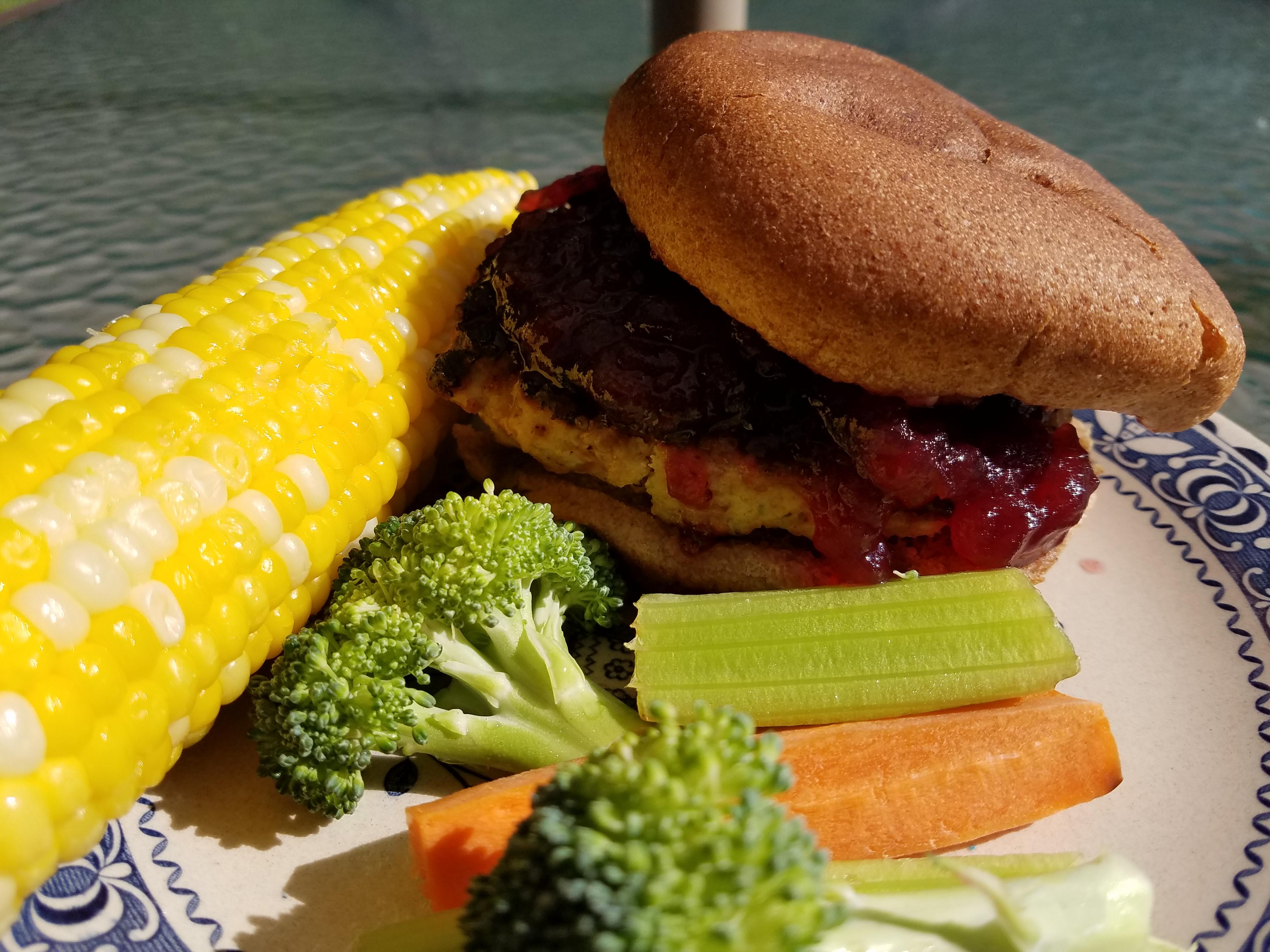 Thanksgiving Flavored Turkey Burgers Pamela Montgomery