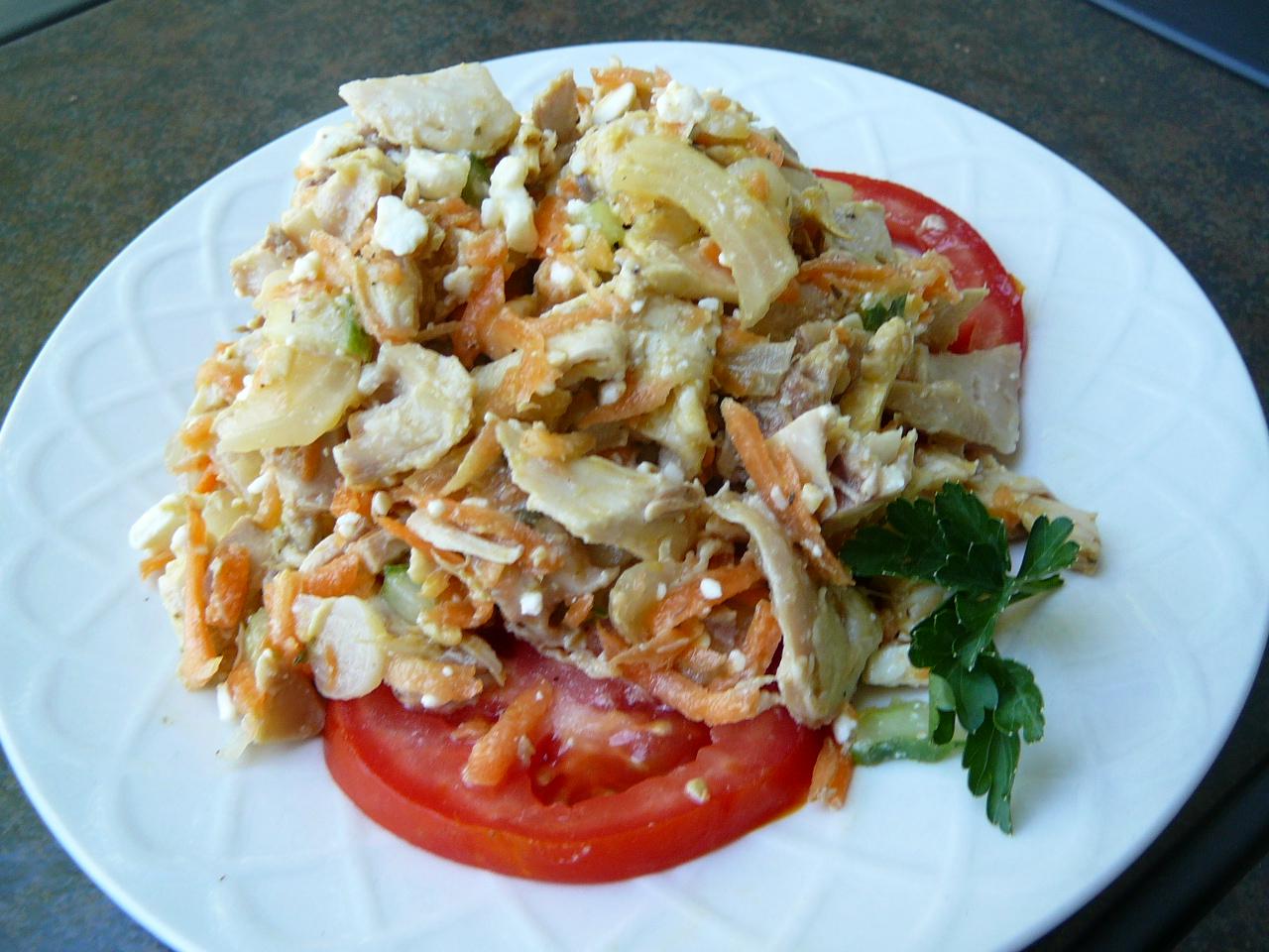 Greek Chicken Salad Lois