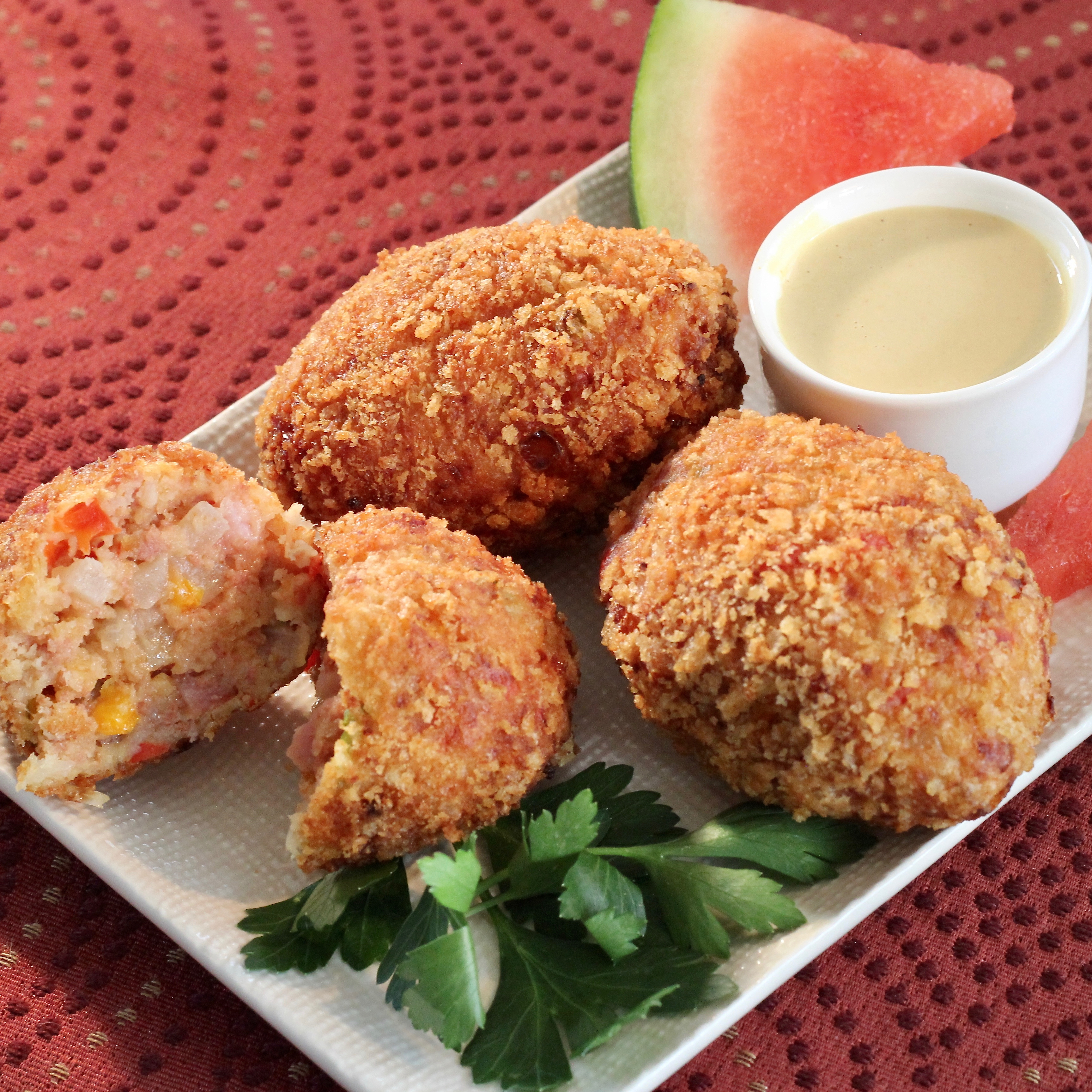 Corned Beef Hash Croquettes