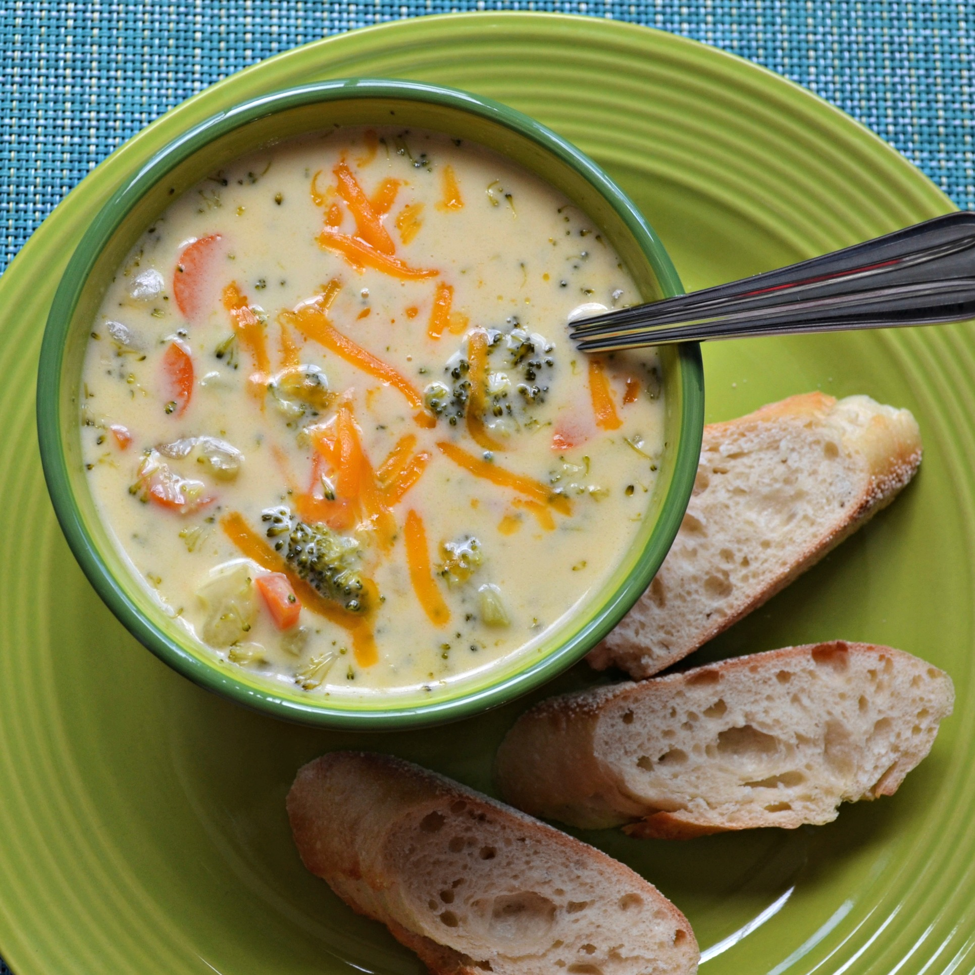 Sandy's Homemade Broccoli and Cheddar Soup Sandy Lafleur