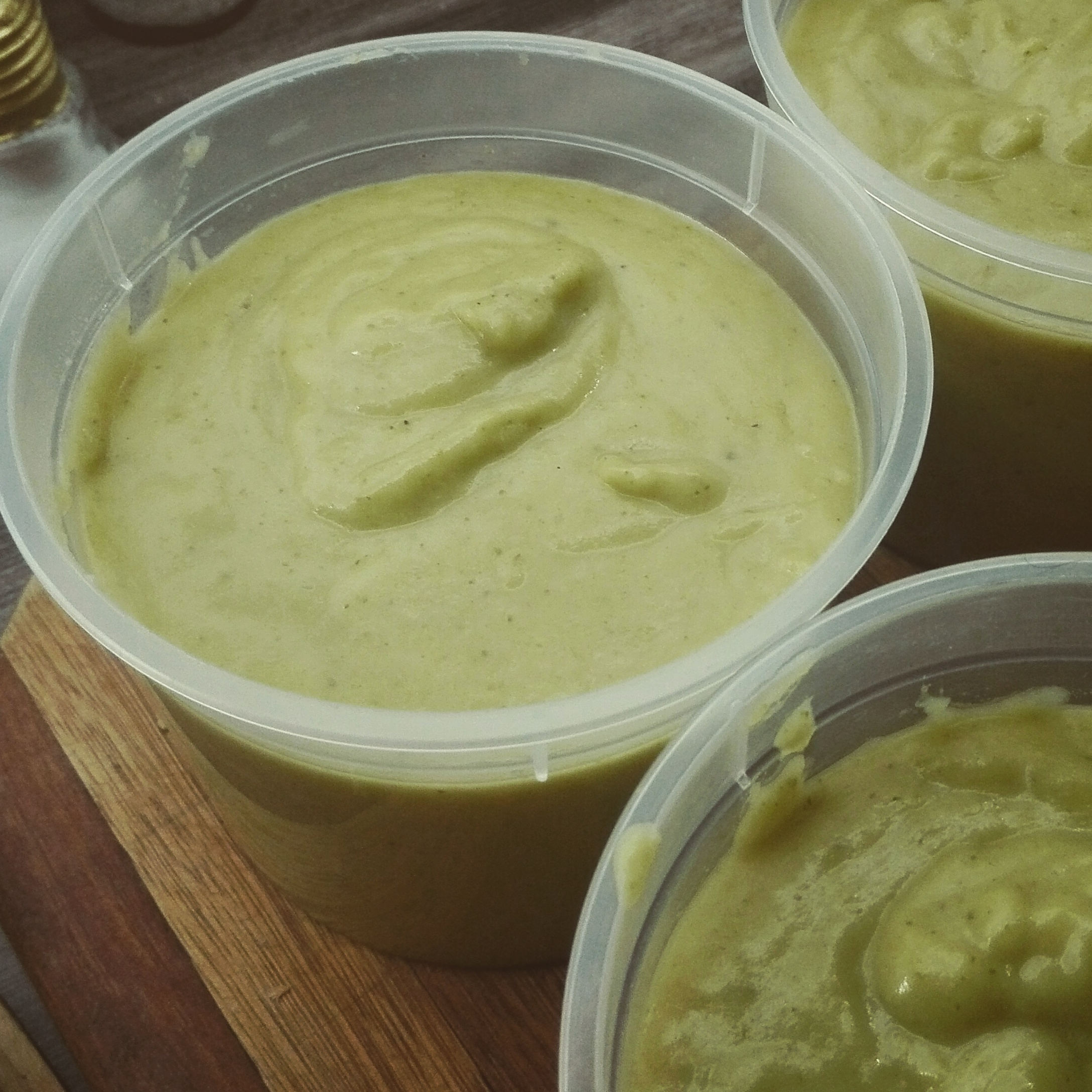 Tim Perry's Soup (Creamy Curry Cauliflower and Broccoli Soup) Terri Jansen